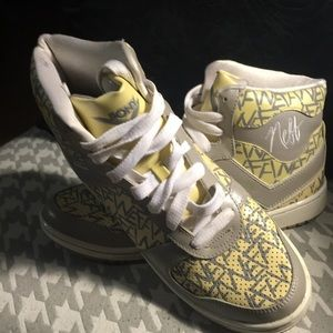 Neff x Pony high top sneakers
